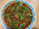 Spicy Prawn & Capsicum Curry