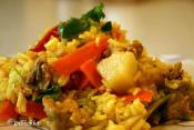Pineapple Chicken Fried Rice