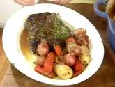 Silver Plated Pot Roast