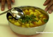 Simple Indian Potato Curry