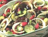 Bell Peppers, Courgettes, And Aubergines Ratatouille