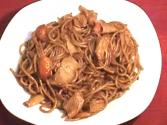 Red Spaghetti - Stir Fried