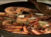 Shrimps With Oyster Sauce And Margarine