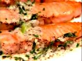 Salmon Steaks With Zippy Italian Sauce