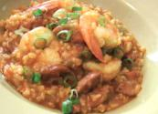 Shrimp And Rice Jambalaya With Chicken Seasoning