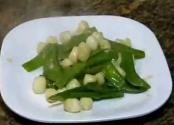 Sauteed Scallops With Snow Peas