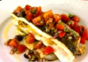 Vegetable Stuffed Sole