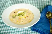Quick Crab Chowder