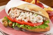 Shrimp Crab Bisque Sandwiches