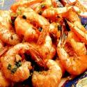 Stir Fried Miniature Shrimp And Peas