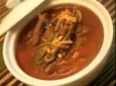 Korean Food: Spicy Beef Soup ( = Yukgaejang)