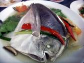 Oriental Steamed Fish