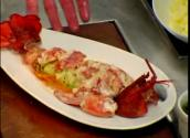 Steamed Lobster On Homemade Fettuccine