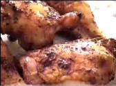 Barbecued Chicken Quarters