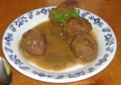 Chinese Smoked Meatballs