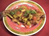 Sweet And Sour Fish With Ginger Snaps
