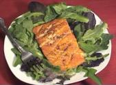 Sour Cream Salmon Salad