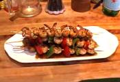 Honeyed Grilled Shrimp Skewers