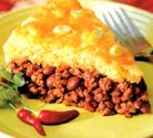 Beef And Cornmeal Tamale Pie