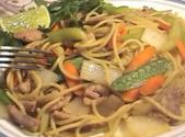Jambalaya Of Noodles And Vegetables