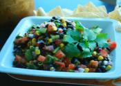 Corn Chips With Sweet Salsa