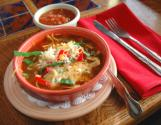 Cheese & Cilantro Tortilla Soup
