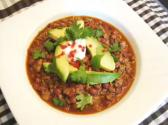 Turkey Chili With Kidney Beans
