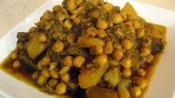 Moroccan Lamb Tajine With Turnips And Chickpeas