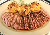 Broiled Black Pepper Steak