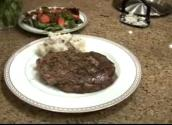 Valentine's Day Show Part 3 - Chocolate Lava Cake And The Finishing Of Grilled Steak And Parmesan Smashed Potatoes