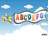 Abc Song For Kids | Aeroplane Alphabet Song