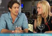 Actor Billy Snow Of Tbs's Hit Show Glory Daze Offers A Toast