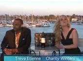 Actor Treva Etienne Visits Celebrity Wine Review