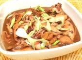 Adobong Pusit With Oyster Sauce