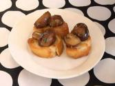 Aoli And Tapas Mushrooms