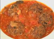 Mexican Albondigas In Savory Tomato Sauce