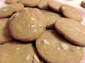 Toasted Almond Butter Cookies