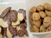 Almond Pistachio Cranberry Cookies And Butter Cookies