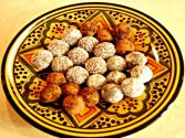 Almond Truffles - Moroccan &quot;zellige&quot; Cookie Variation