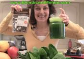 Spinach And Orange Anti Oxidant Vegan Drink