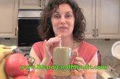 Honeydew, Greens And Ginger Vegan Anti Aging Smoothie