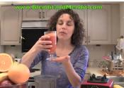 Goni Berry And Orange Juice Immune Booster Smoothie