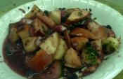 Apple And Chestnut Salad