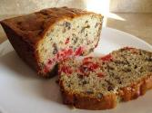 Apple Cherry Nut Bread