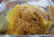 Simple No-fat Apple Crumble