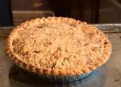 Apple Shoofly Pie