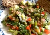 Arabic Vegetable Salad