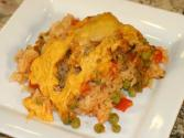 Arroz Con Pollo - Mexican Chicken And Rice Casserole By Rockin Robin