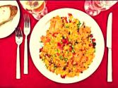 Rice With Chicken &amp; Veggies - Arroz Con Pollo 