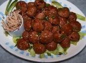 Asian Meatballs In Sweet And Sour Sauce